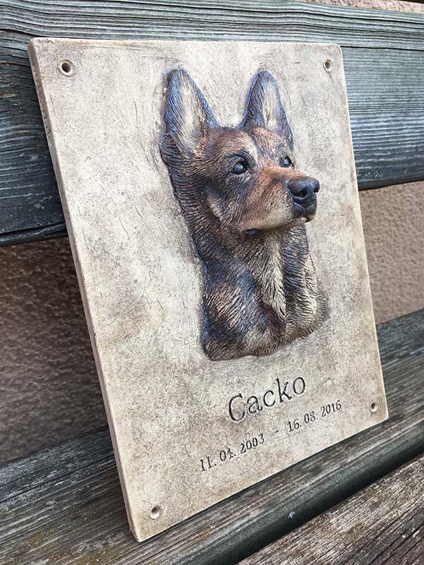 Gedenktafel-Hund