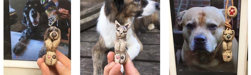 schutzengel anhaenger kette hund