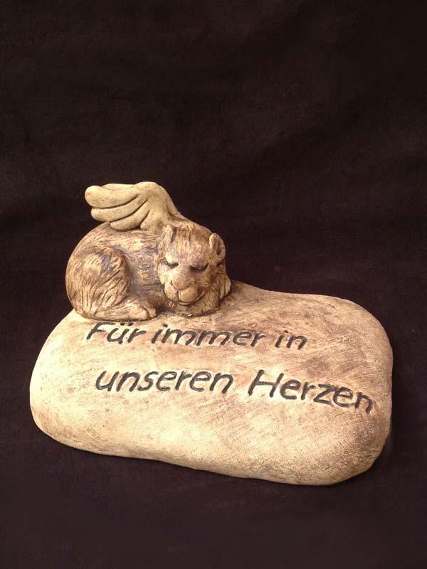 Grabstein Hamster Ton