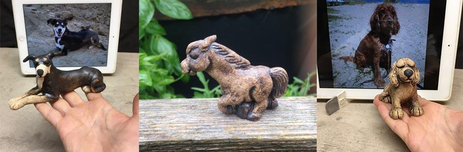 Miniatur Skulpturen
